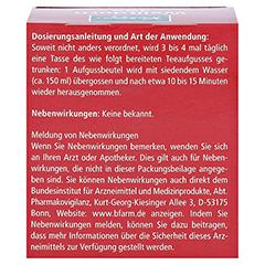 KNEIPP TEE Weißdornblüten Btl. 10 Stück - Rückseite