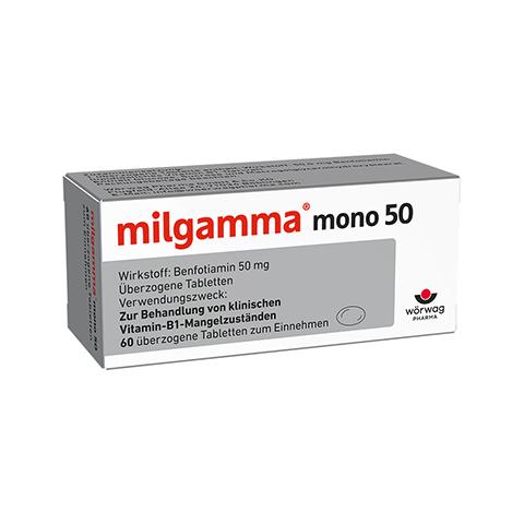 MILGAMMA mono 50 �berzogene Tabletten 60 St�ck