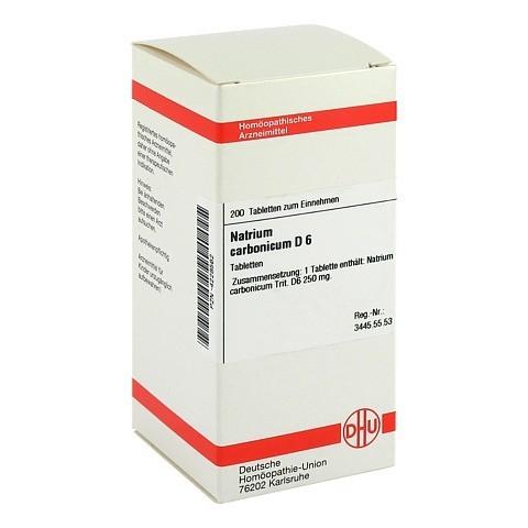 NATRIUM CARBONICUM D 6 Tabletten 200 Stück N2