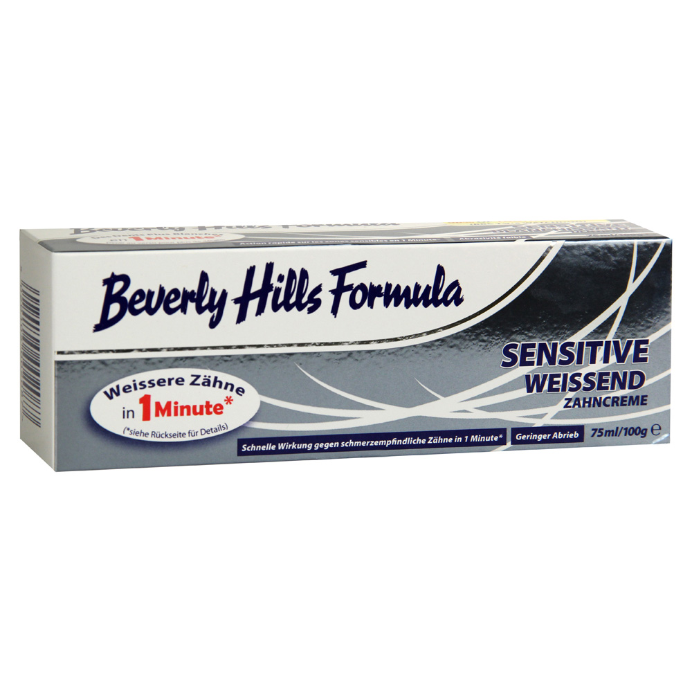 beverly hills formula sensitive zahncreme 75 milliliter. Black Bedroom Furniture Sets. Home Design Ideas