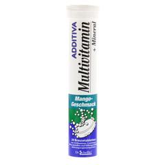 ADDITIVA Multivit.+Mineral Mango R Brausetabletten 20 Stück