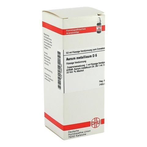 AURUM METALLICUM D 6 Dilution 50 Milliliter N1