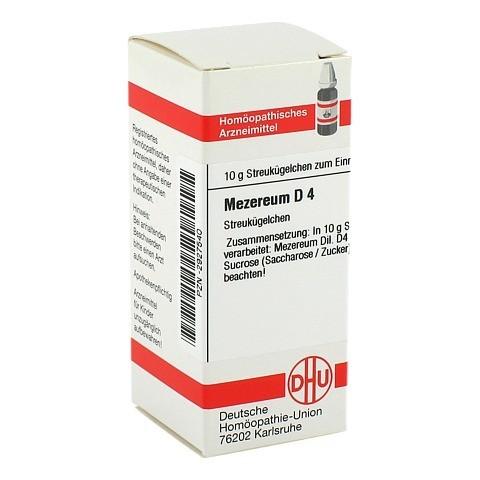 MEZEREUM D 4 Globuli 10 Gramm N1