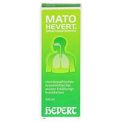 MATO Hevert Erkältungstropfen 100 Milliliter N2 - Vorderseite