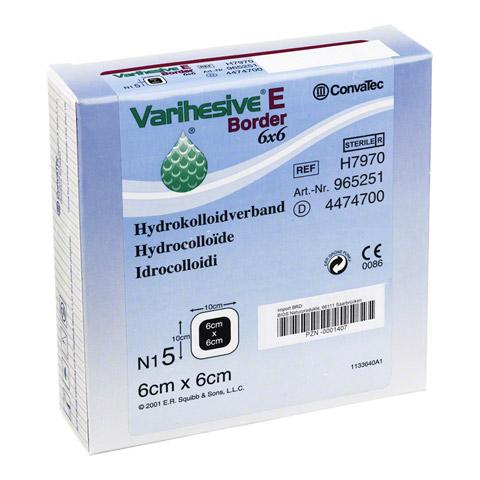 VARIHESIVE E Border 6x6 cm HKV hydroaktiv 965251 5 Stück