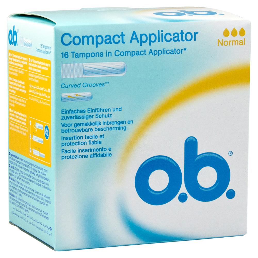 COMPACT Applicator f.o.b.Tampons normal 16er 16 Stück
