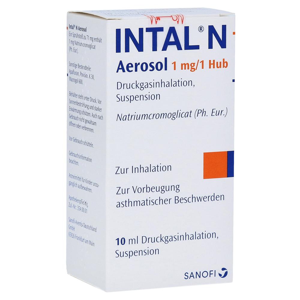 Intal N Aerosol 1mg/Hub 10 Milliliter N1 online bestellen