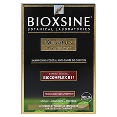 BIOXSINE for Women Shampoo 300 Milliliter - Rückseite