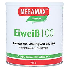 Eiweiss 100 Cappuccino Megamax Pulver 750 Gramm