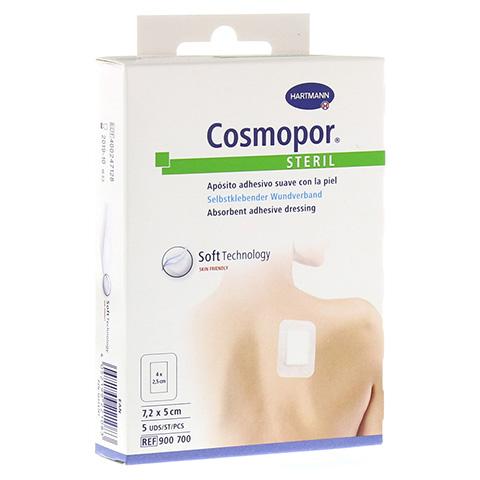 COSMOPOR steril 5x7,2 cm 5 Stück