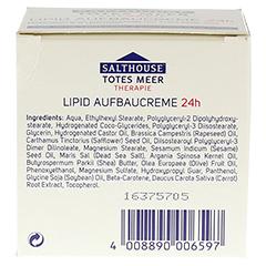 SALTHOUSE TM Therapie Lipid Aufbaucreme 24h 50 Milliliter - Unterseite