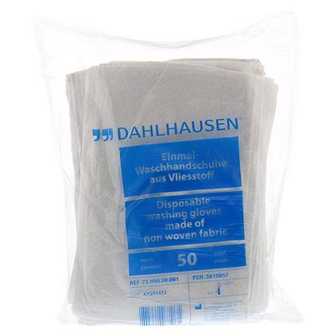 WASCHHANDSCHUHE Flauschvlies 14,5x22 cm 50 St�ck