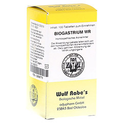 BIOGASTRIUM WR Tabletten 100 Stück N1