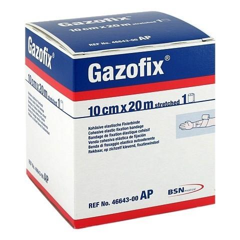 GAZOFIX Fixierbinde 10 cmx20 m hautf. 1 St�ck