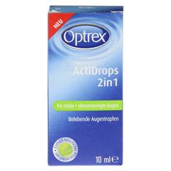 OPTREX ActiDrops 2in1 f.m�de+�beranstrengte Augen 10 Milliliter - Vorderseite
