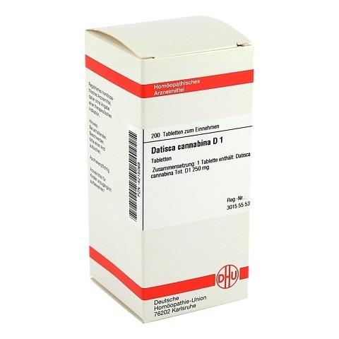 DATISCA cannabina D 1 Tabletten 200 Stück N2