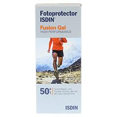 FOTOPROTECTOR ISDIN Fusion Gel SPF 50+ 100 Milliliter - Rückseite