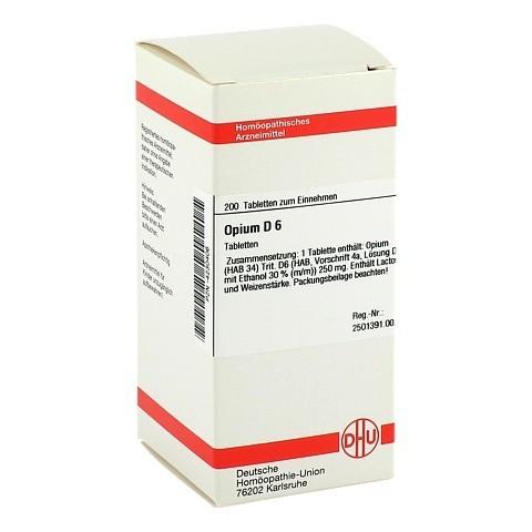 OPIUM D 6 Tabletten 200 Stück N2