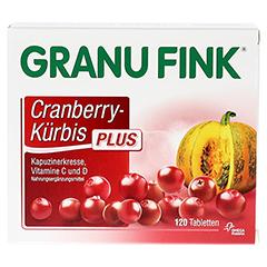 GRANU FINK Cranberry-Kürbis PLUS Tabletten 120 Stück - Vorderseite