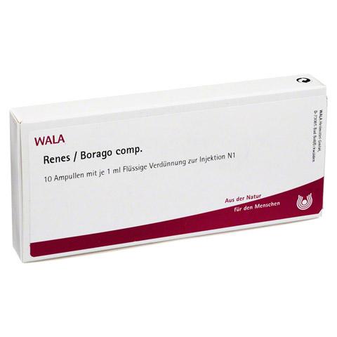 RENES/ BORAGO COMP. Ampullen 10x1 Milliliter N1