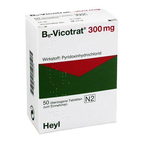 B6 VICOTRAT 300 mg �berzogene Tabletten 50 St�ck N2