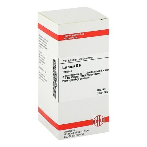 LACHESIS D 6 Tabletten 200 Stück N2