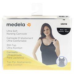 MEDELA Schwangerschafts- u.Still-Top S/M schwarz 1 St�ck - Vorderseite
