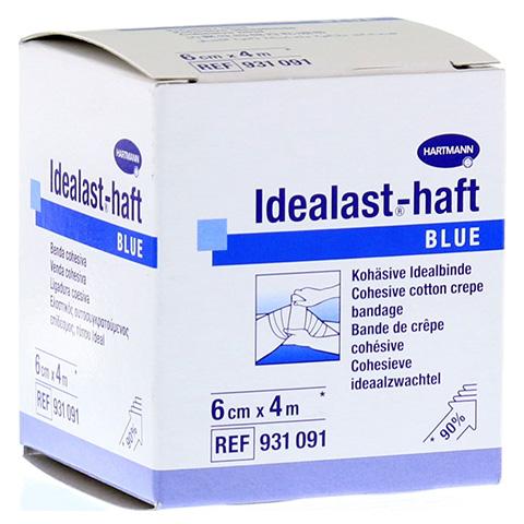 IDEALAST-haft color Binde 6 cmx4 m blau 1 Stück