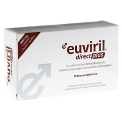 EUVIRIL direct plus Brausetabletten 20 Stück