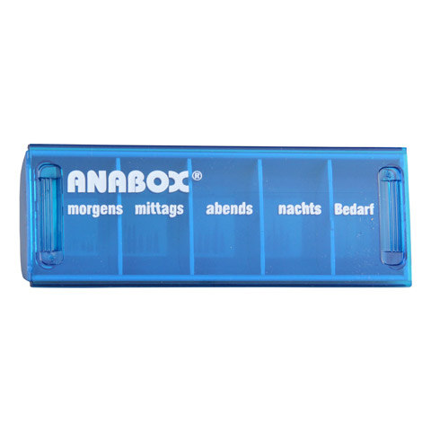 ANABOX Tagesbox türkis 1 Stück