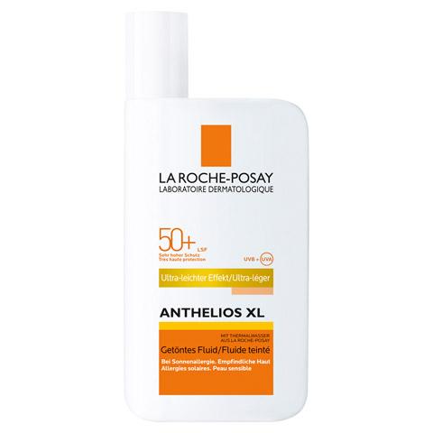 ROCHE POSAY Anthelios XL LSF 50+ getöntes Fluid 50 Milliliter