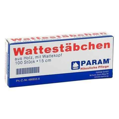 WATTESTAB m.Wattekopf 15 cm 100 Stück