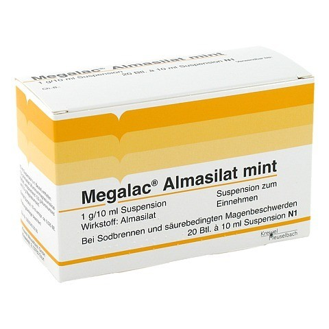 Megalac Almasilat mint Beutel 20x10 Milliliter N1