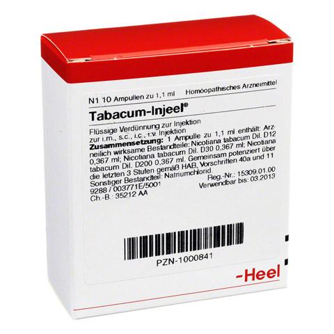 TABACUM INJEEL Ampullen 10 St�ck N1