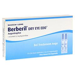 BERBERIL Dry Eye EDO Augentropfen 10x0.6 Milliliter
