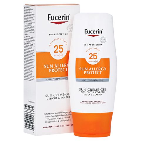 EUCERIN Sun Allergie Schutz Creme-Gel LSF 25 150 Milliliter