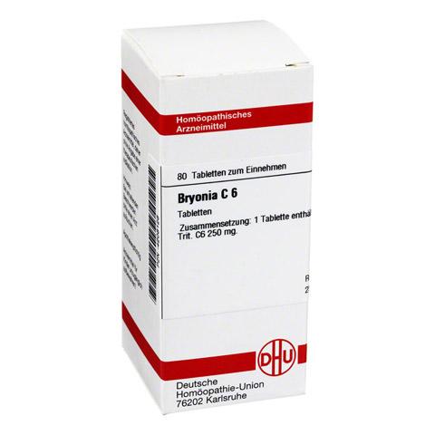 BRYONIA C 6 Tabletten 80 Stück N1