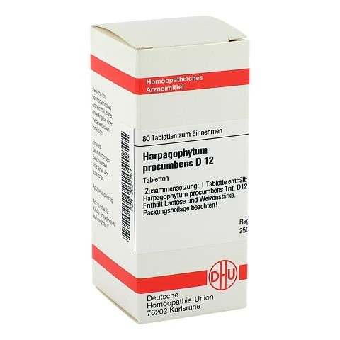 HARPAGOPHYTUM PROCUMBENS D 12 Tabletten 80 Stück N1