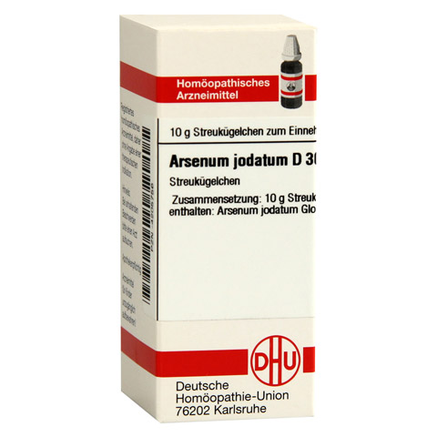 ARSENUM JODATUM D 30 Globuli 10 Gramm N1