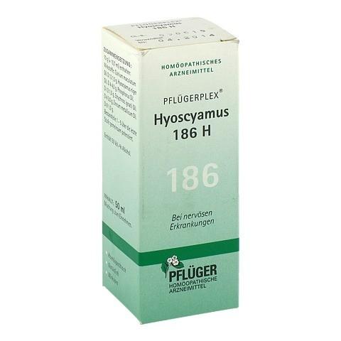 PFLÜGERPLEX Hyoscyamus 186 H Tropfen 50 Milliliter N1
