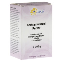 BERTRAMWURZELPULVER Aurica 100 Gramm