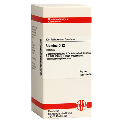 ALUMINA D 12 Tabletten 200 St�ck N2