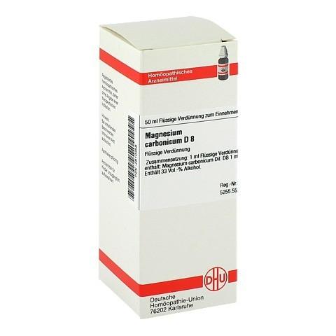 MAGNESIUM CARBONICUM D 8 Dilution 50 Milliliter N1
