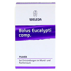 BOLUS EUCALYPTI comp.Pulver 30 Gramm - Vorderseite