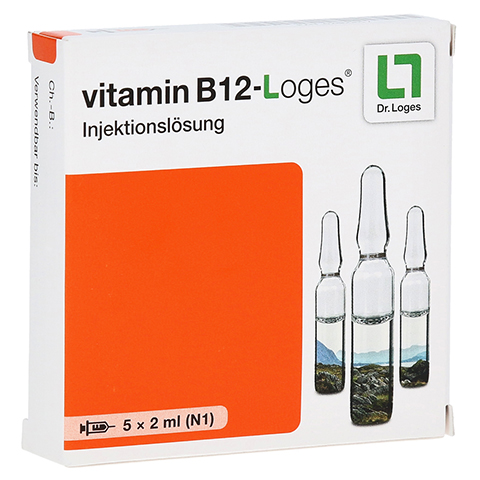 Vitamin B12 Loges Injektionsl�sung Ampullen 5x2 Milliliter N1