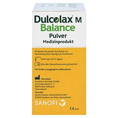 DULCOLAX M Balance Pulver Medizinprodukt 20x10 Gramm - Linke Seite