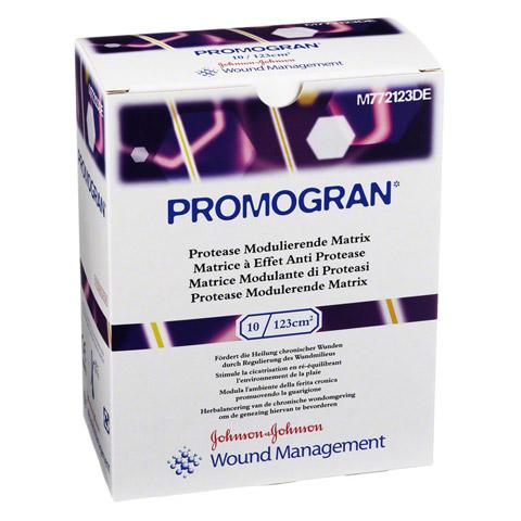PROMOGRAN 123 qcm steril Tamponaden 10 Stück