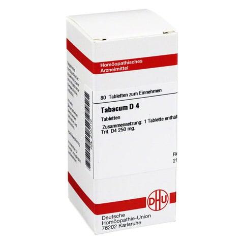 TABACUM D 4 Tabletten 80 St�ck N1