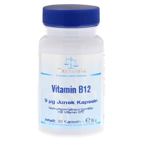 VITAMIN B12 9,0 µg Junek Kapseln 30 Stück