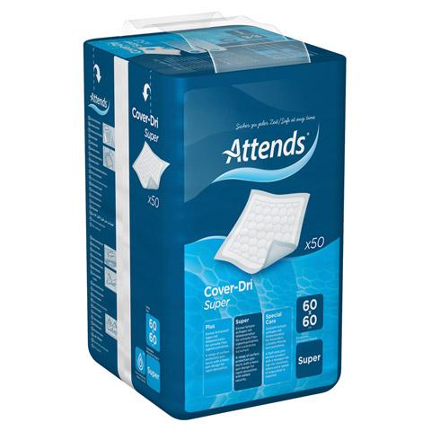 ATTENDS Cover-Dri Super 60x60 cm 50 St�ck